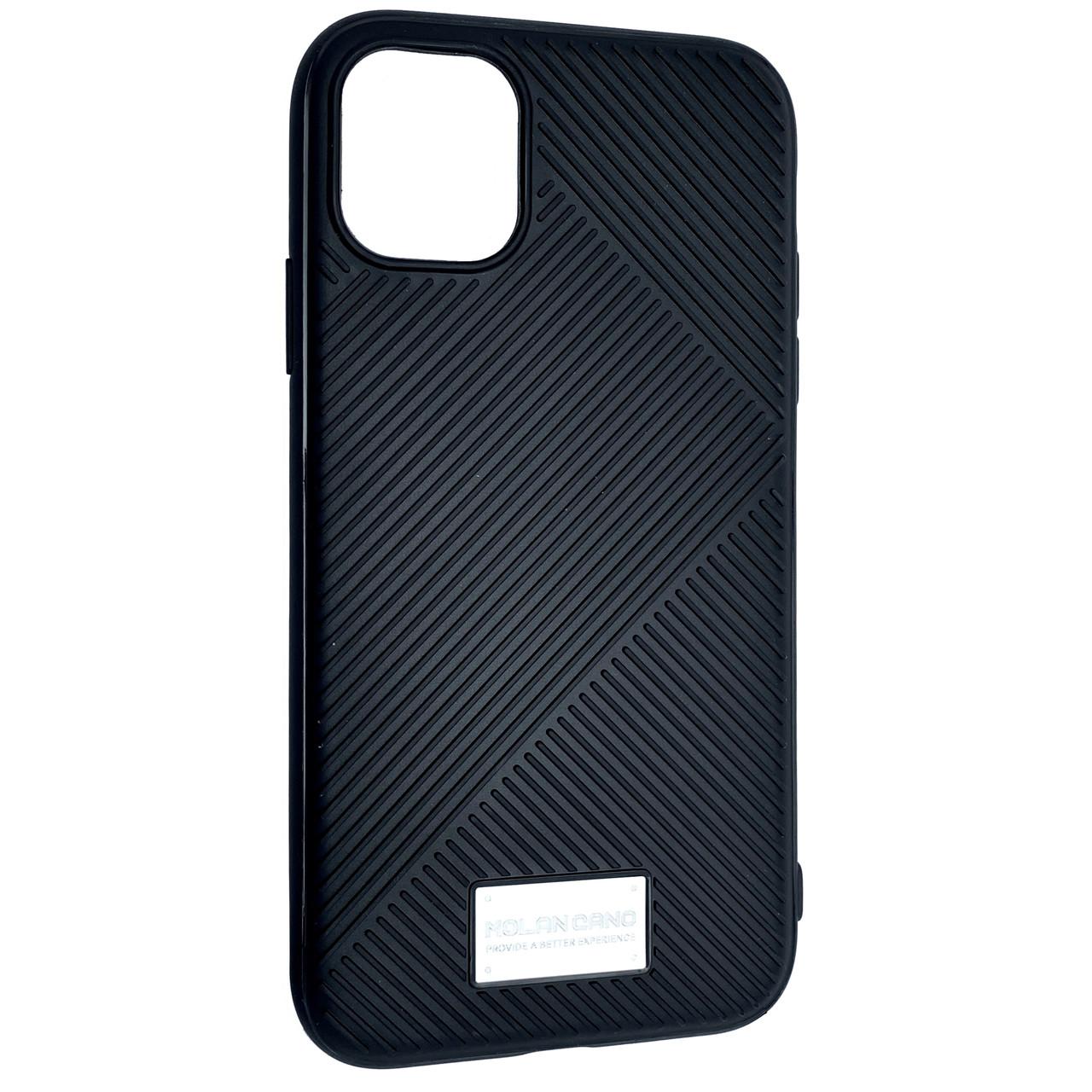 Чехол Silicone Molan Cano Jelline Bumper Apple iPhone 11 Pro Max (black)