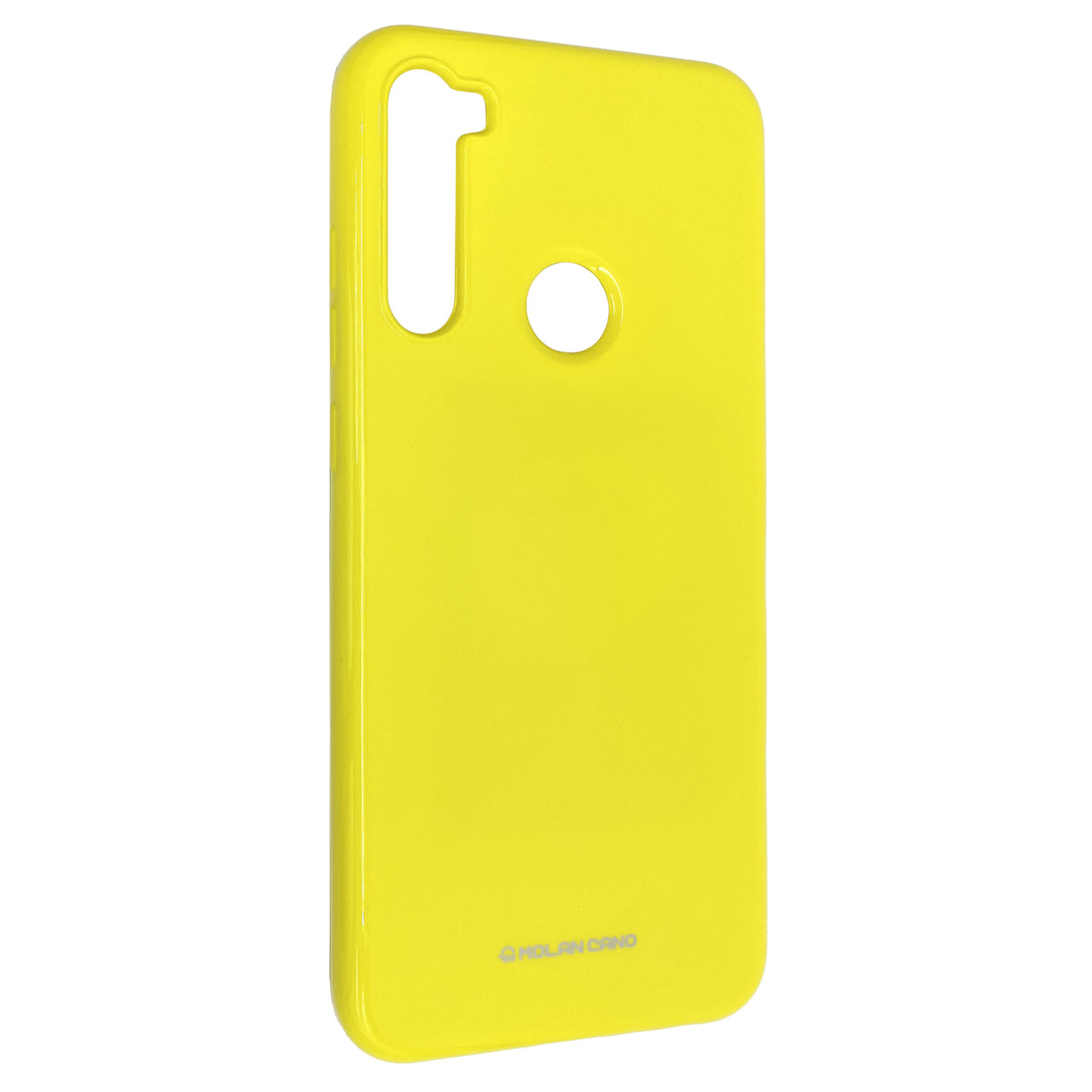 Чехол-накладка Silicone Molan Cano Jelly Case для Xiaomi Redmi Note 8T (yellow)