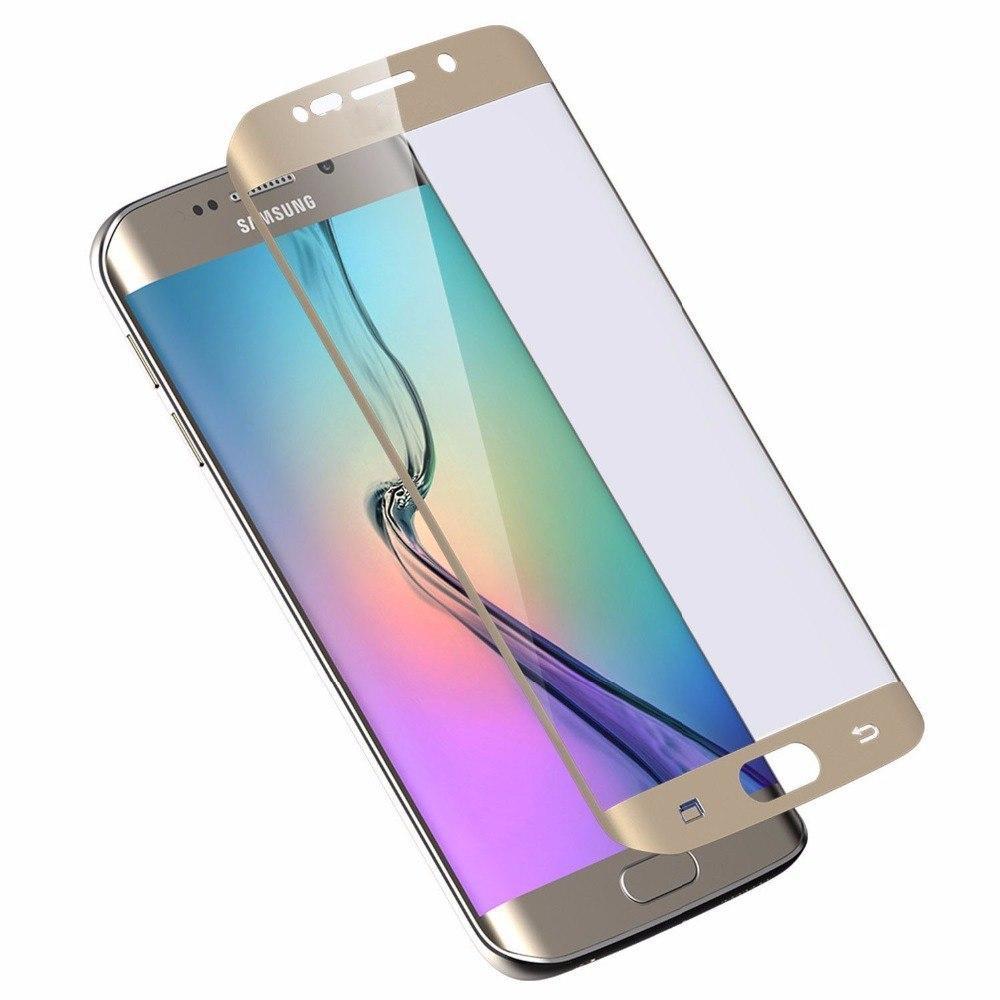 Защитная пленка for Samsung S6 edge front gold