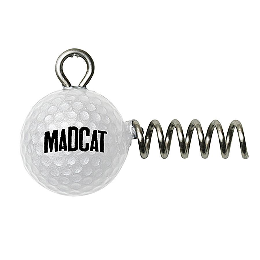 Головка-штопор DAM MADCAT Golf Ball Screw-In Jighead 20гр. 2шт./уп