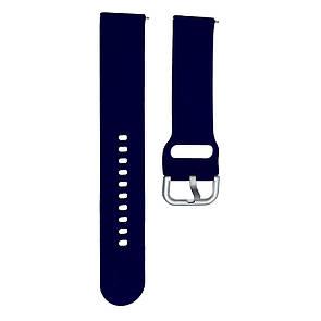 Ремешок DK Silicone Sport Band Samsung Watch (40/42/44) (R500/R810/R820/R830) 20mm (blue)