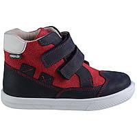 Ботинки Theo Leo RN609 27 17.5 см Черно-красные