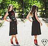 Черное платье 152030