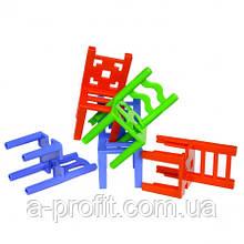 """Настільна гра """"Балансуючі стільці"""""""