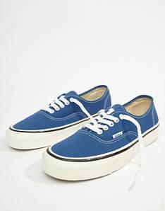 Кеды текстильные Vans Authentic низкие Синие (37 р.)