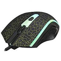Мышь проводная игровая XTRIKE ME Gaming Backlight GM-206, черная