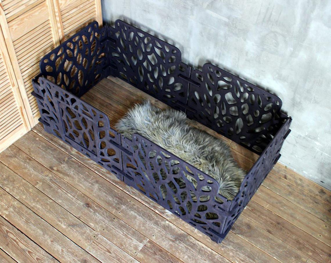 Вольєр для собаки КІТ-ПЕС by smartwood | Огорожу для собак у квартирі | Манеж для собаки з дерева