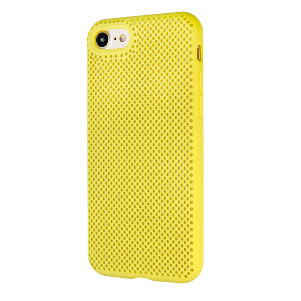 Чехол Silicone Case  Perforation for Apple iPhone 7/8 (yellow)