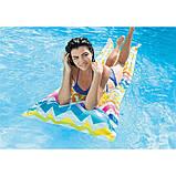 Пляжный надувной матрас 183*69 см., фото 4
