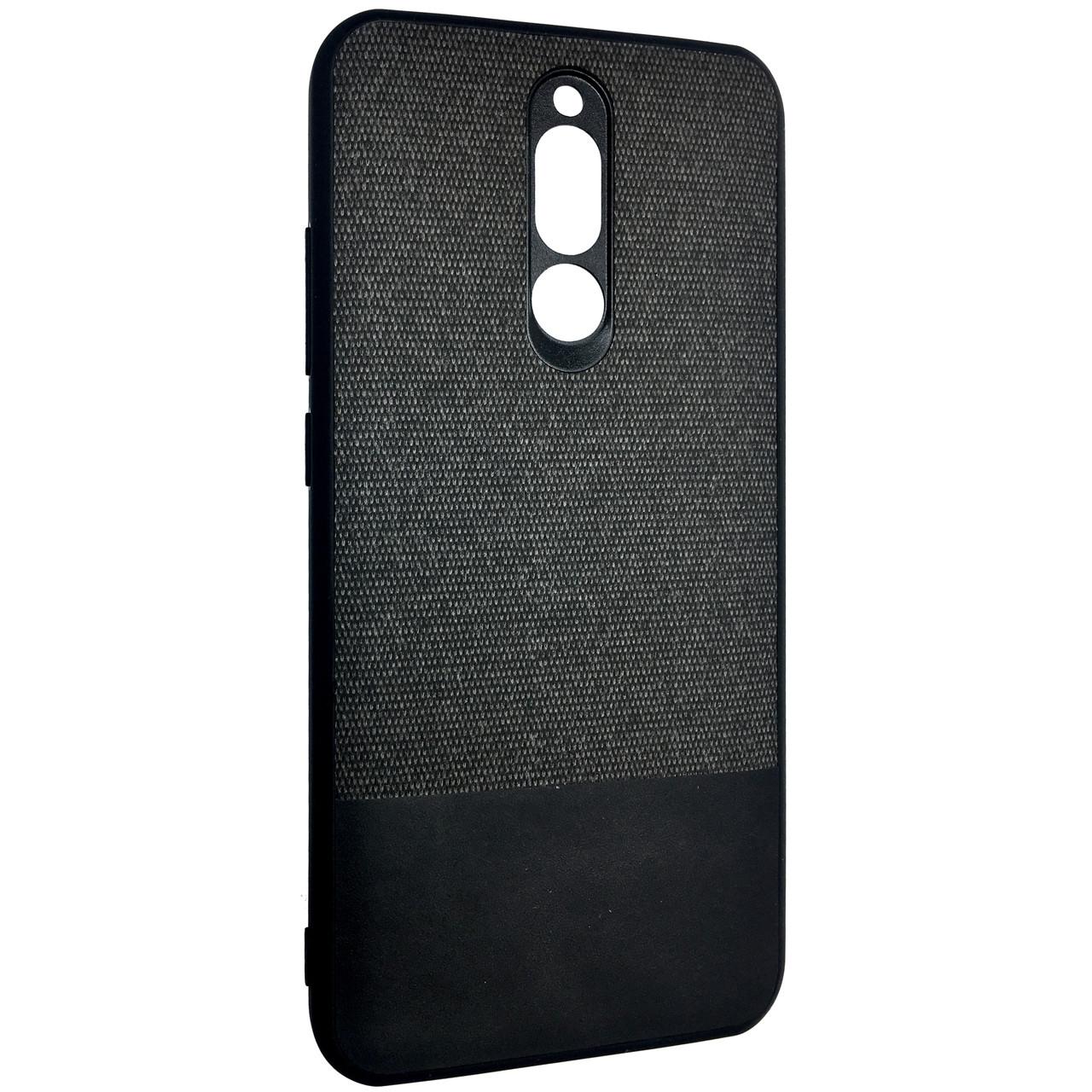 Чехол DK Silicone Form Fabric Cotton Xiaomi Redmi 8 (black)
