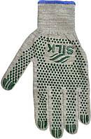 Трикотажні рукавиці з ПВХ Silk 136104