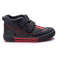 Ботинки Theo Leo RN721 26 17 см Черно-красные