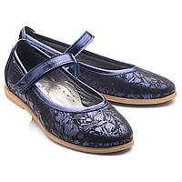 Красивые школьные туфли для девочки.Турция.Theo Leo RN739  р.26-38