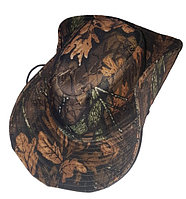 Шляпа ковбойка с широкими полями и жесткой тульей камуфлированная