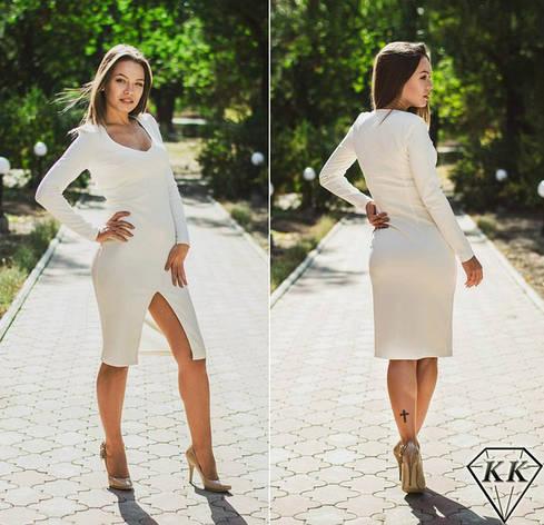 Белое платье 15867, фото 2