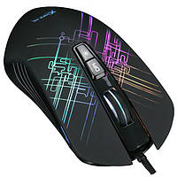 Мышь проводная игровая XTRIKE ME Gaming Backlight GM-510, черная