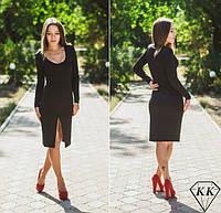 Черное платье 15867