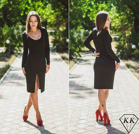 Черное платье 15867, фото 2