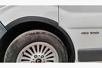 Накладки на колесные арки Renault Trafic 2001-2015 / 4 шт
