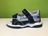 Босоножки Сандалии Мальчик  ТМ Ok-Shoes  36 р 23,5 см, фото 4