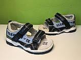 Босоножки Сандалии Мальчик  ТМ Ok-Shoes  36 р 23,5 см, фото 9