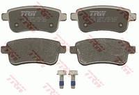Колодки тормозные задние Renault Fluence (TRW GDB1791)