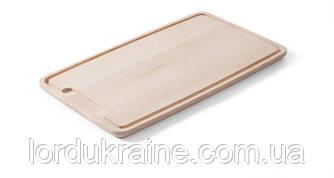 Доска разделочная деревянная Hendi 390x230x16 мм