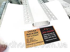 Профиль врезной в гипсокартон под штукатурку  88х48х18,5мм