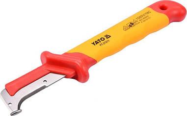 Нож для снятия изоляции диэлектрический YATO YT-21211
