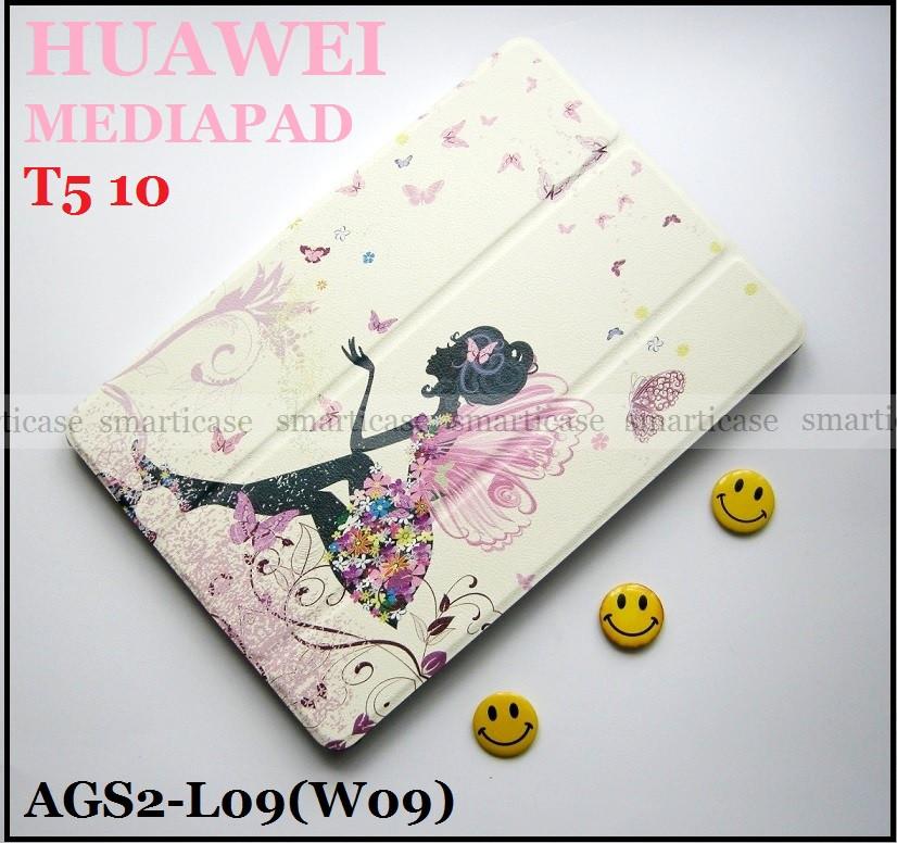 Белый чехол с феей для Huawei Mediapad T5 10 AGS2-L09 AGS2-W09