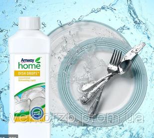 Концентрированная жидкость для мытья посуды DISH DROPS