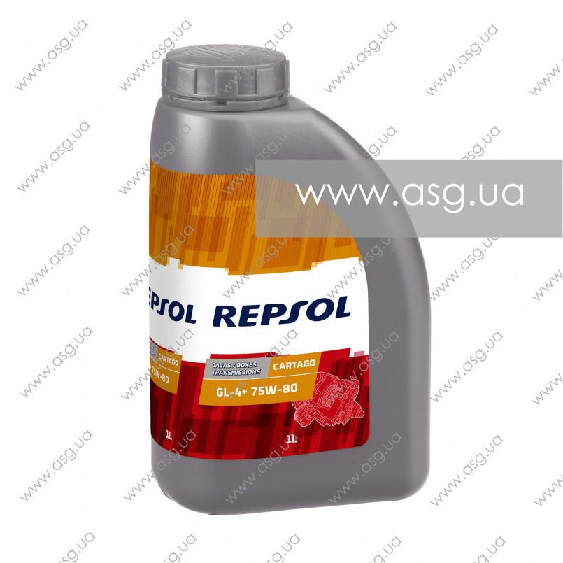 Трансмиссионное масло REPSOL CARTAGO GL-4+ 75W-80 1л
