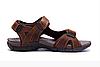 Мужские кожаные сандалии DEFF brown коричневые