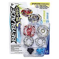 Игровой набор Hasbro Bey Blade Wyvron W2 Виврон W2 и ODAX O2 Одакс О2 2 Волчка (B9491_C0599)