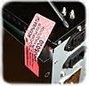 Индикаторная пломба-наклейка 20х50мм, фото 4