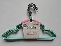 Плечики для детской одежды в силиконе 30*19 см