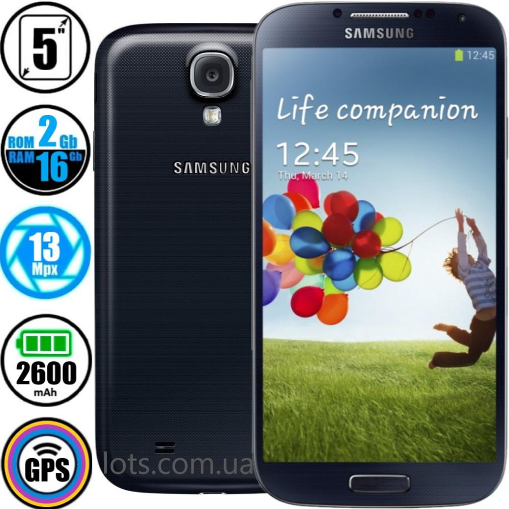 Смартфон Samsung Galaxy S4 GT-I9500 (2/16Gb) NFC - Оригинал + Подарок Защитное Стекло