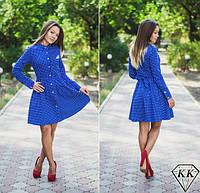 Синее платье 15875