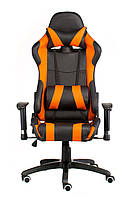 Крісло геймерське Special4You extreme Race, чорний\ помаранчевий