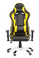 Крісло геймерське Special4You extreme Race, чорний\ жовтий
