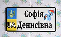 Номер на коляску, велосипед София Денисовна