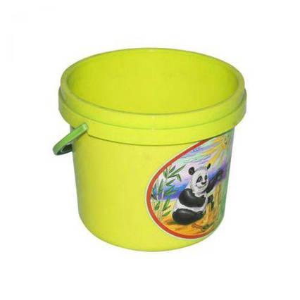Ведёрко для песка желтый 0521
