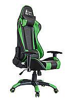 Крісло геймерське Special4You extreme Race, чорний\ зелений