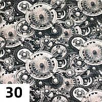 Панель стеновая самоклеющаяся 3D 5 мм  Шестерёнки Кирпич