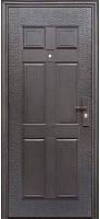 Дверь входная Супер Эконом Метал/Метал Левая 96Х2050см порошковая покраска для Офиса, для Общежитий и Дома