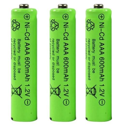 Аккумулятор AAA 1.2V 600 mAh Ni-Cd