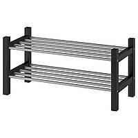 IKEA Полка для обуви, черный, 79 см
