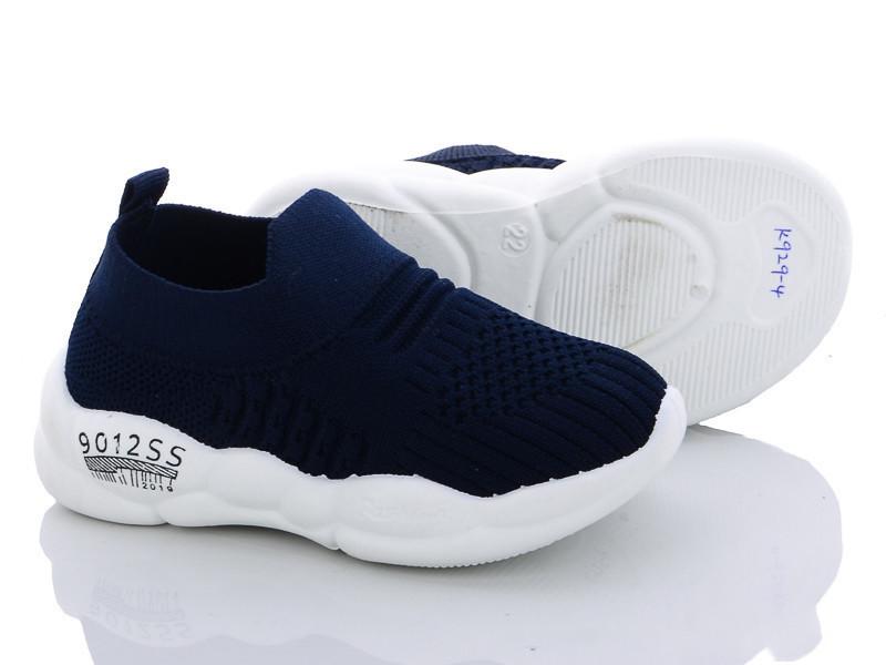 Детские кроссовки для мальчика в сетку синий цвет размер 22-27 Киев