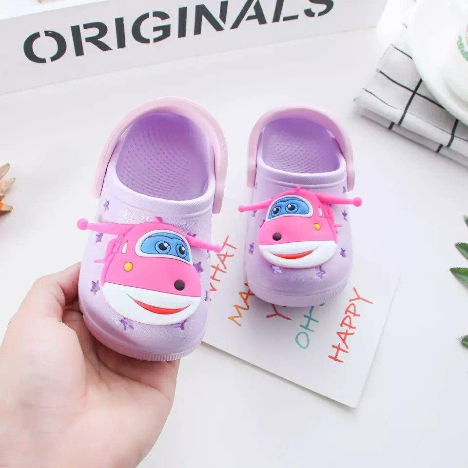 Кроксы детские для девочки Микс фиолетовые размер 23 Киев