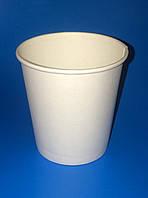 Стаканы бумажные 110мл белые